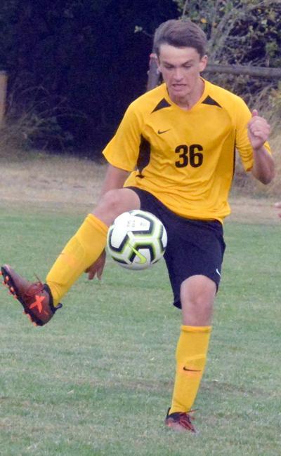 PHS boys soccer: Noah Aynes