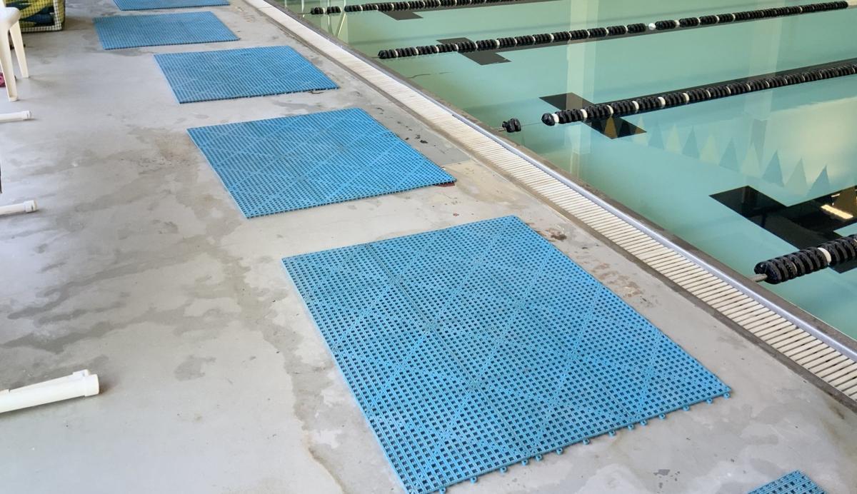 Clemens Community Pool: Deck