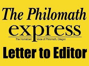 Philomath Letter to Editor logo