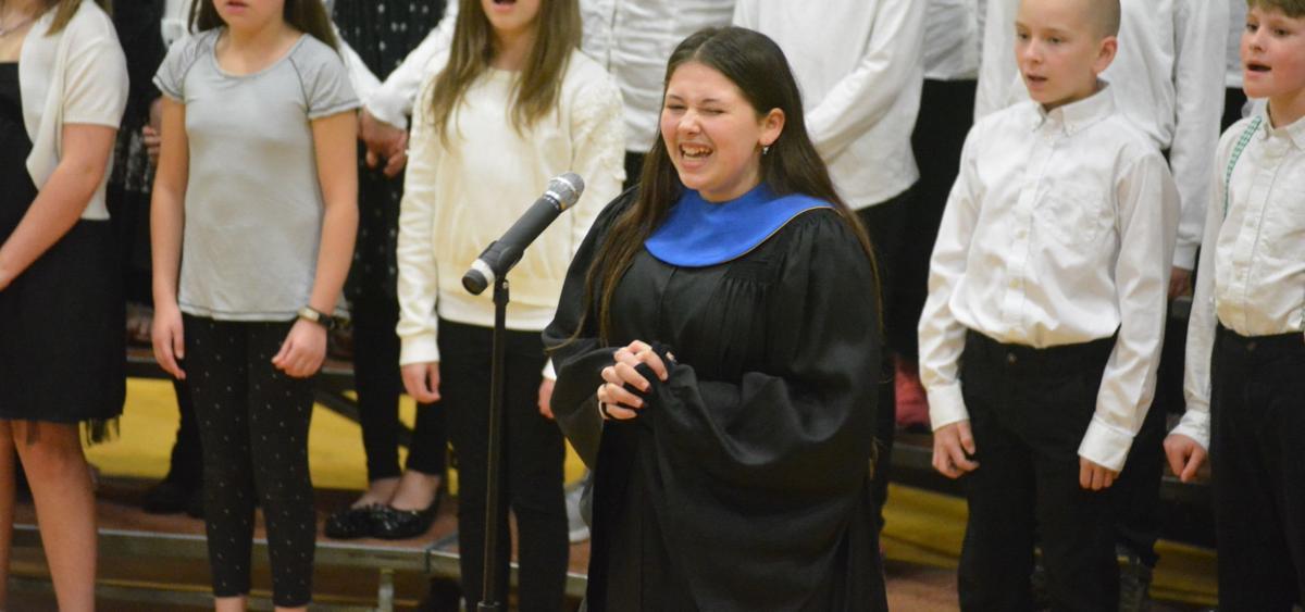 Choir concert: Ivie Tussing