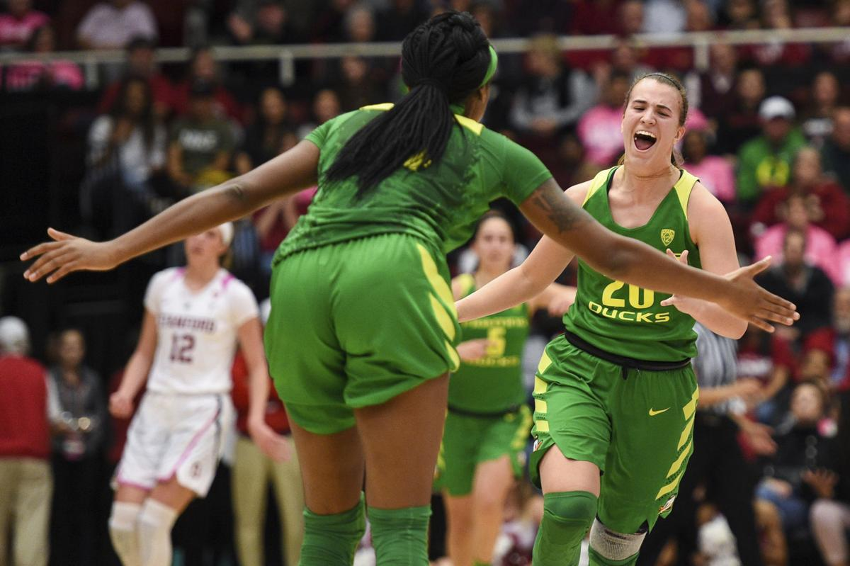 COLLEGE BASKETBALL: FEB 10 Women's Oregon at Stanford