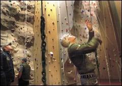 OSU climbing wall reaches new scale