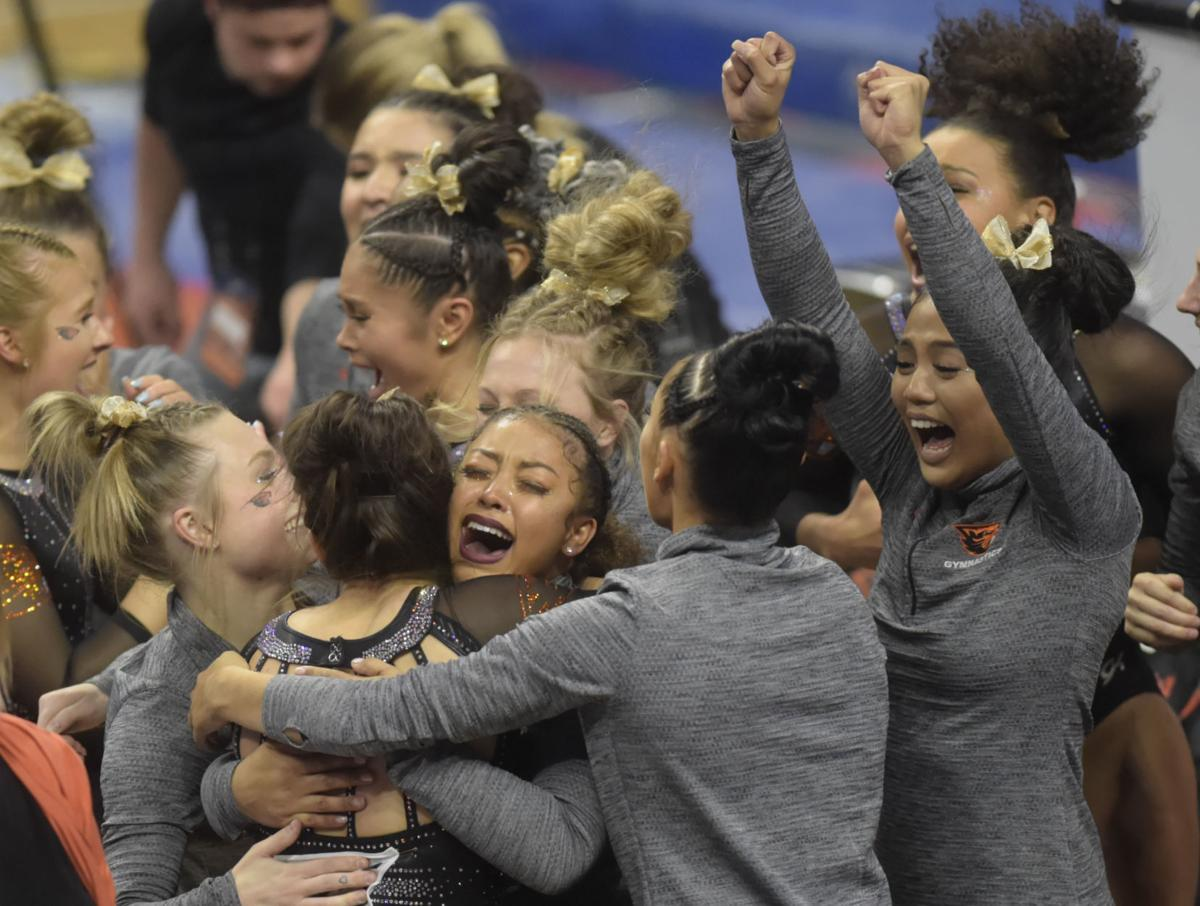 NCAA Corvallis Gymnastics Regional Finals