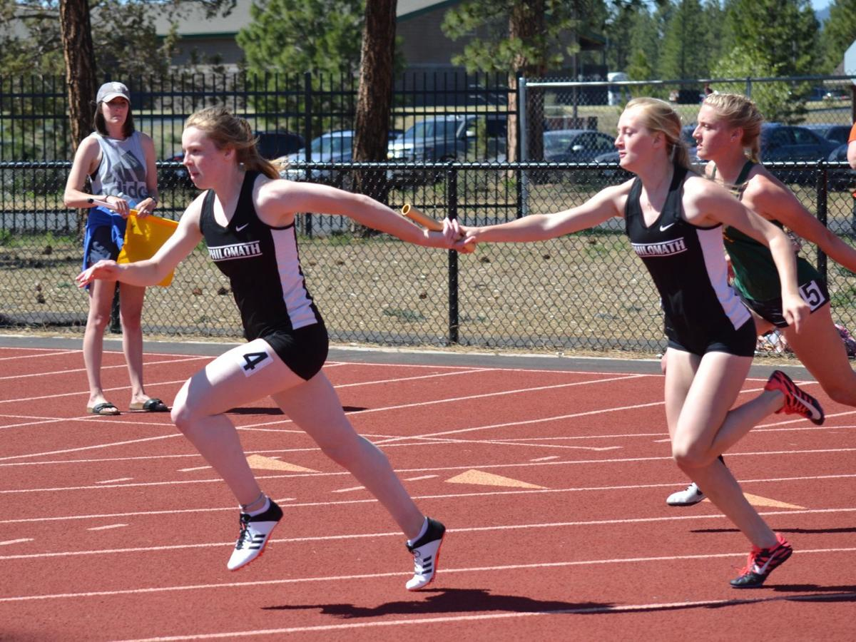 PHS track: Maggie Ross, Alivia Pittman