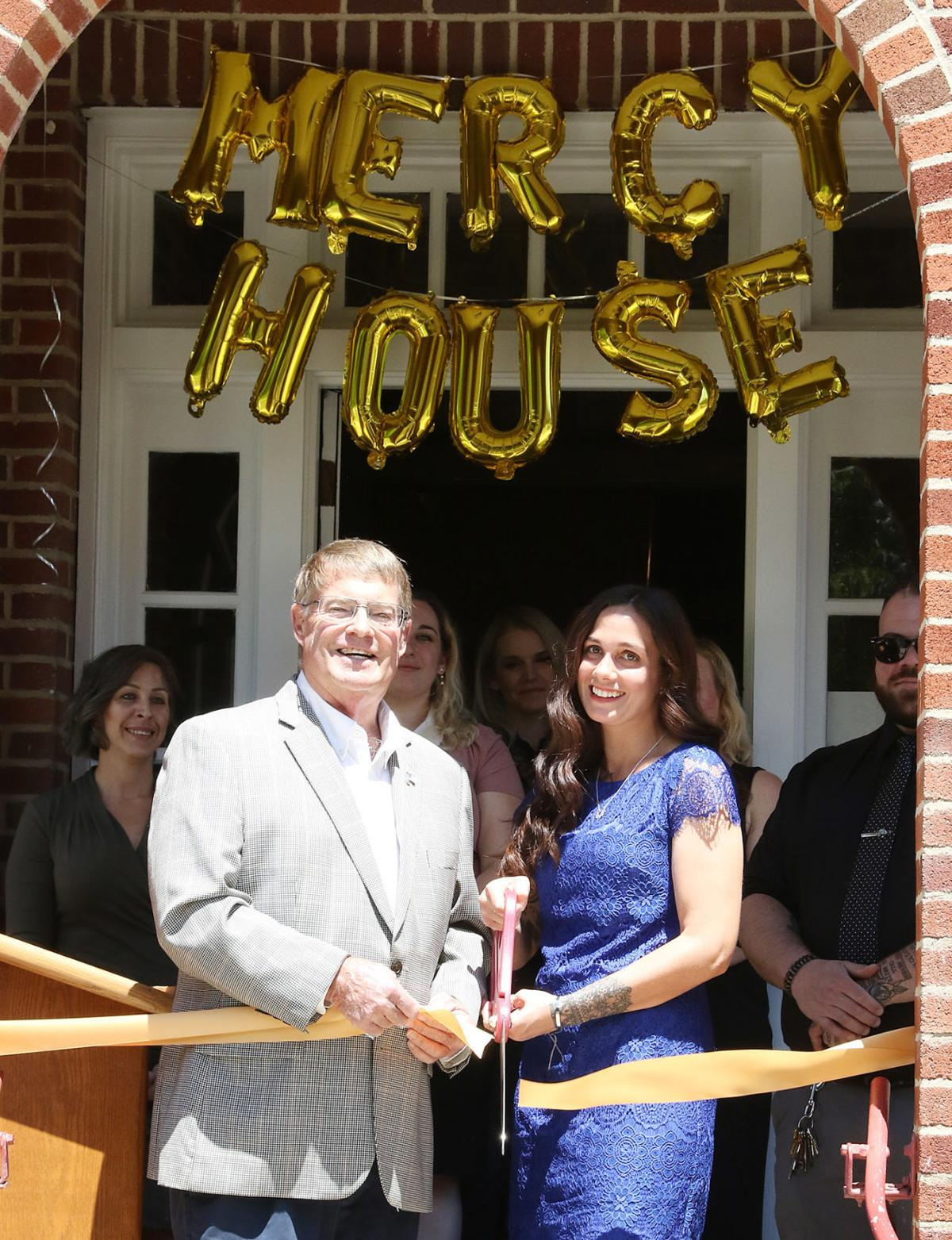 Ribboncutting at Mercy House