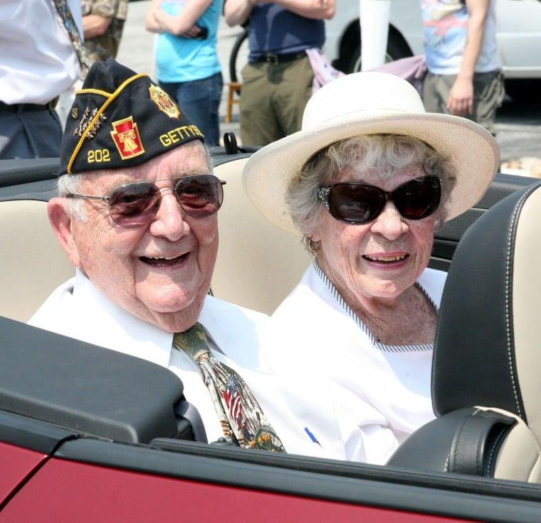 Mayor Bill Troxell and wife, Honey Troxell