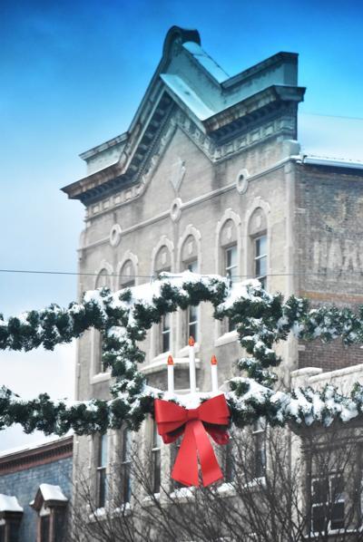 Downtown Christmas decor