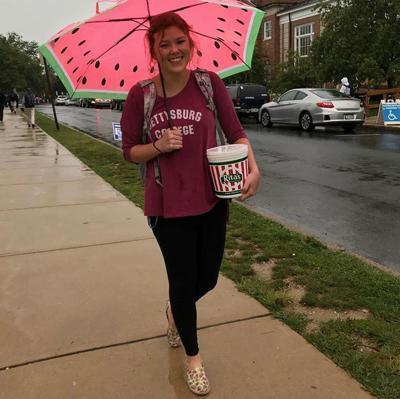 Happy, even in the rain