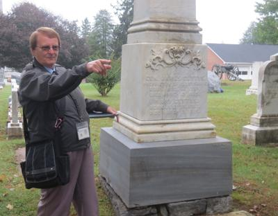 Gettysburg's story at Evergreen Cemetery