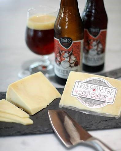 Beer and cheese in one bite