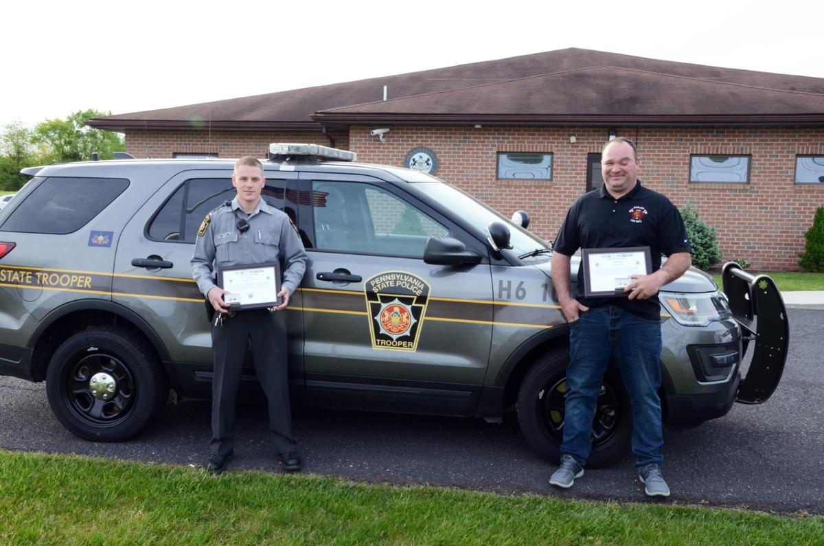 First responders lauded