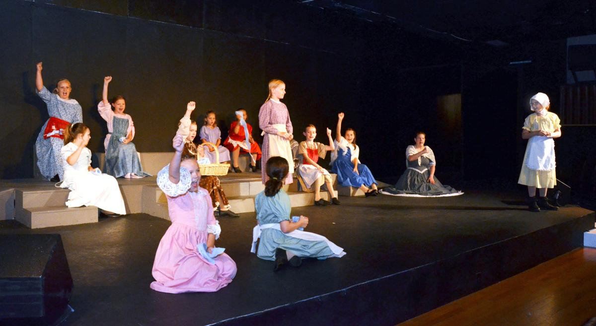 all youth cast brings 'children of the battlefield' to downtown