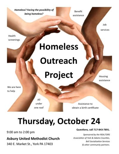 Homeless outreach project