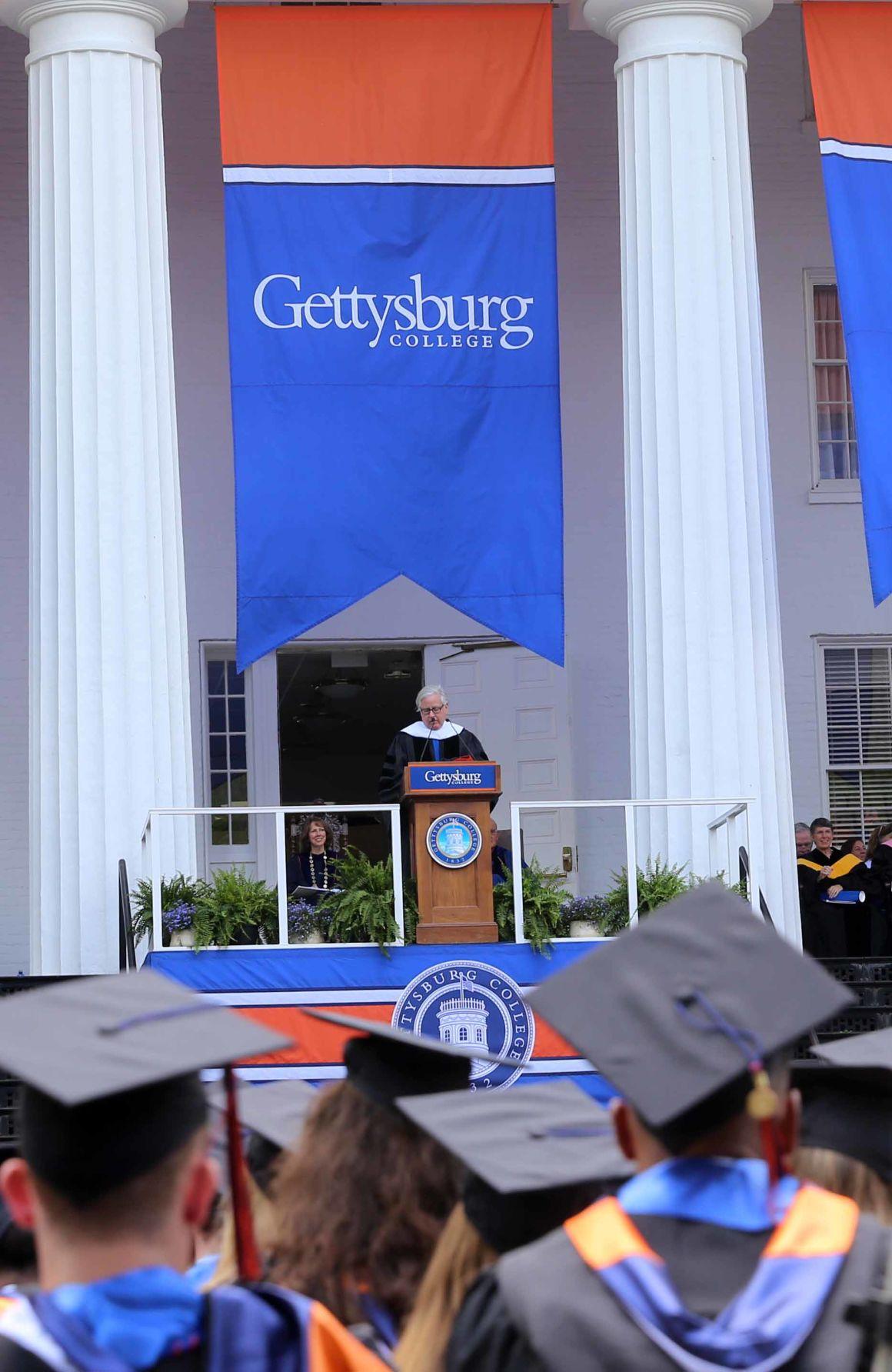 Gettysburg Academic Calendar.Fineman Speaks At Gettysburg College Graduation Local News