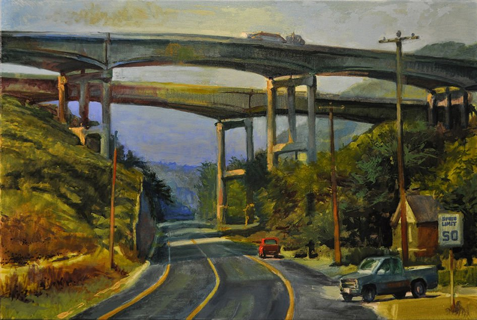 'Landscapes: Highways and Industry' now on display in Majestic Theater art gallery