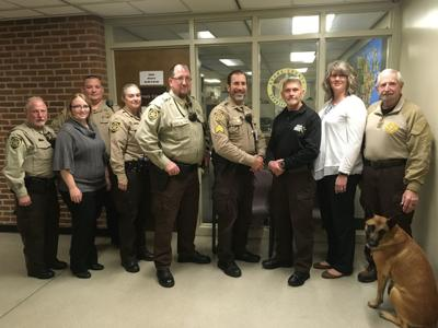 Sheriff Department participates in No Shave November
