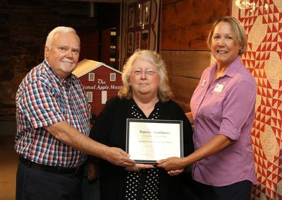 Award presented to Biglervile Historical Society