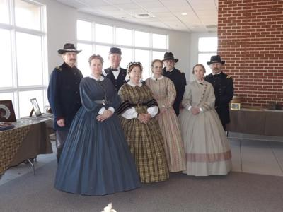 Living History groups will be featured today at local museum