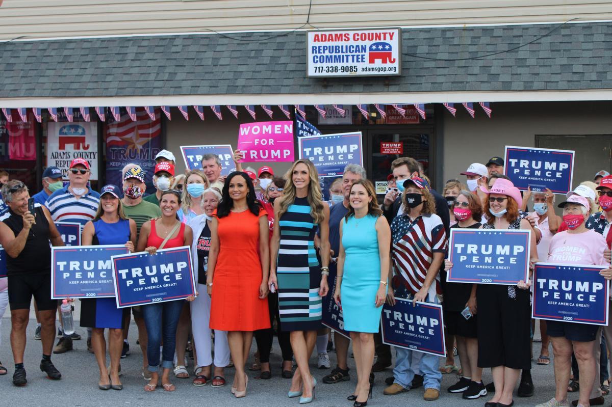 Lara Trump stops in Gettysburg