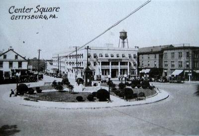 Center Square a long time ago