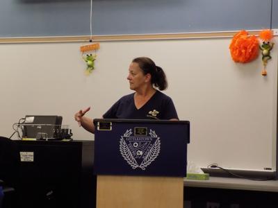 Becker presents initiatives