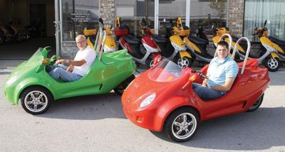 Scoot Coupes available for town/battlefield tours | News