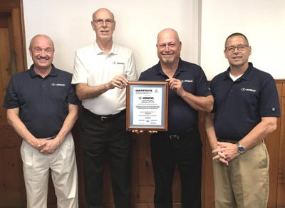 Foundry recognized
