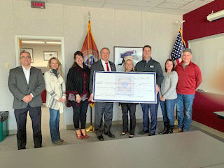 Ox Industries donates to CVFE