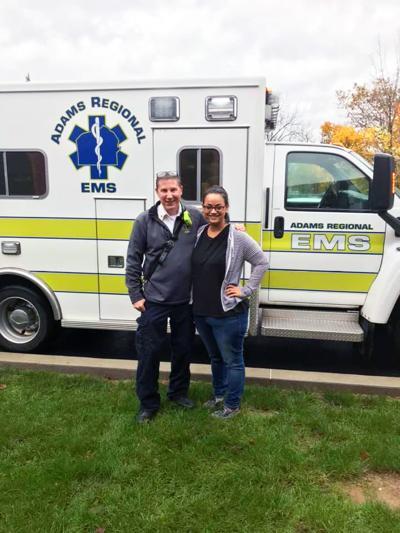 Overdose survivor thanks first responder