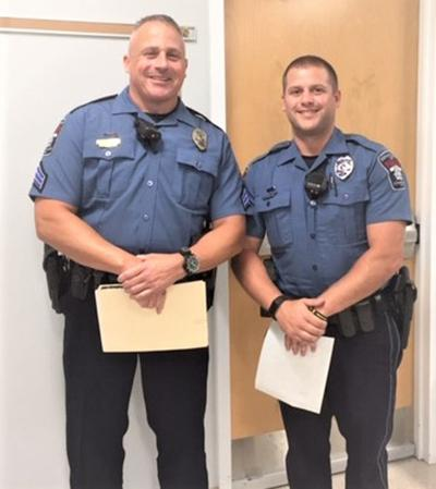 Conewago recognizes officer