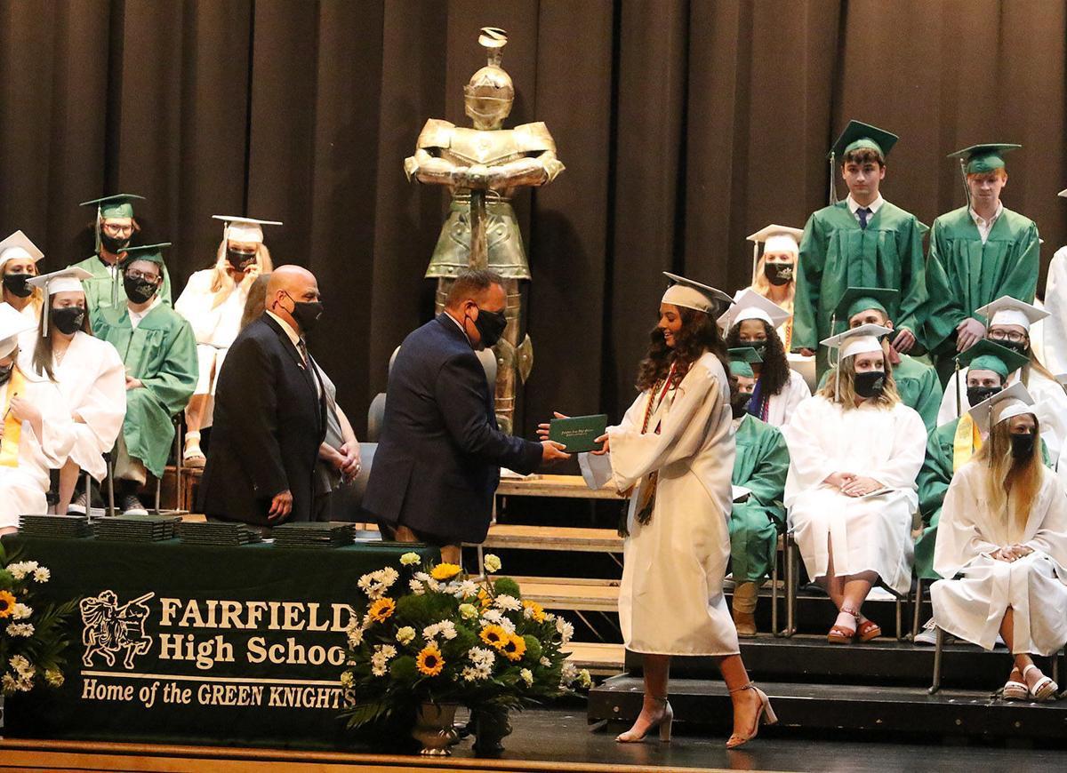 Diplomas presented