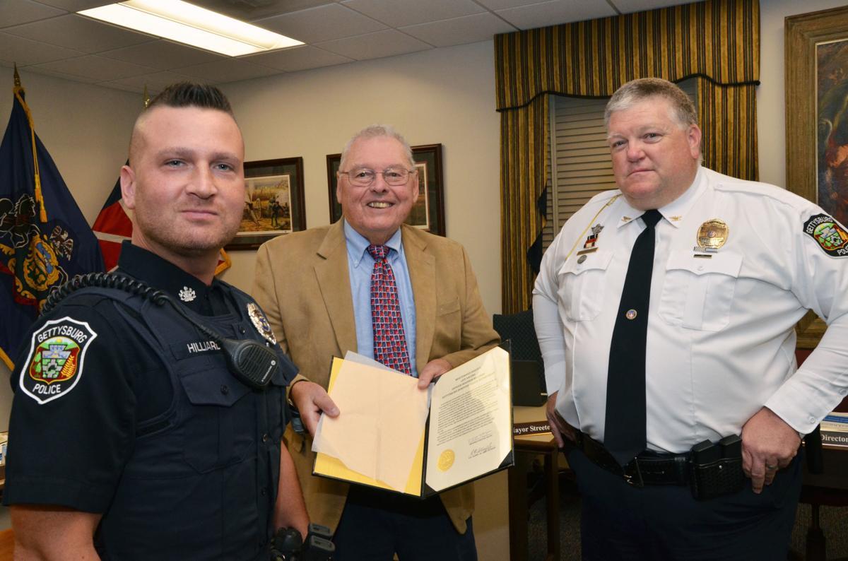 Officer Hilliard praised