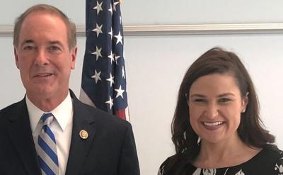 Rep. John Joyce and Rep. Abby Finkenauer