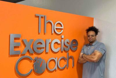 Dwight Lavender Exercise Coach gym