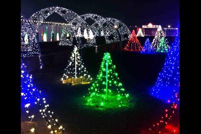 Vertuccio Farms lights displays