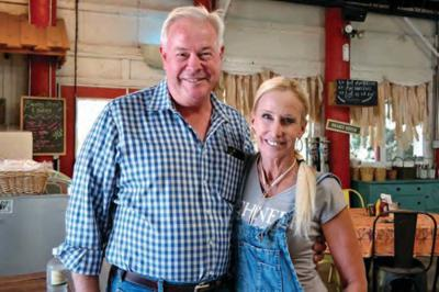 Longtime Queen Creek farmers Mark and Carrie Schnepf