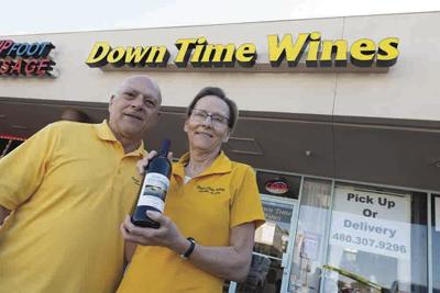 Basil and Colleen Kaspar Down Time Wines in Chandler