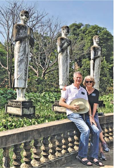 Mayor John Lewis and his wife LaCinda
