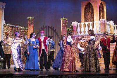 """""""Much Ado About Nothing."""" Gilbert High School's theater group"""
