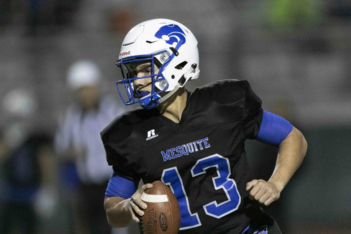 Mesquite junior quarterback Ty Thompson