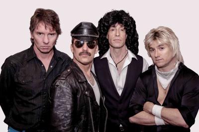 Britsh rock group Queen