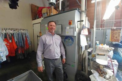 Jeff Kline of Gilbert two Lapels Dry Cleaning outlets