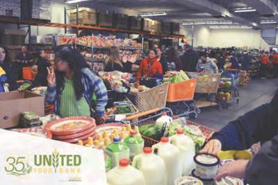 Mesa's United Food Bank and Scottsdale's Waste