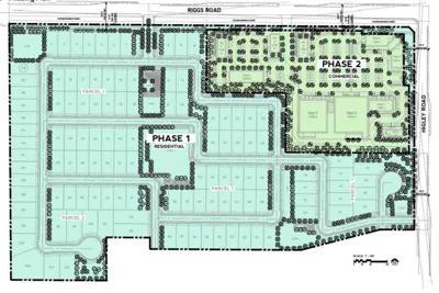 Phase one of Vestar's plan