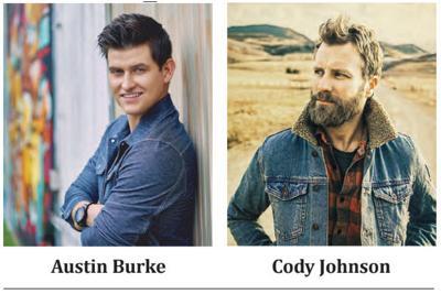 Austin Burke, Cody Johnson