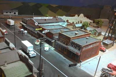 downtown Gilbert 1950s model