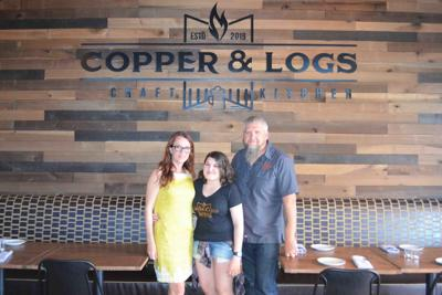 Copper and Logs Restaurant owners Malread and Fabrice Buschletz