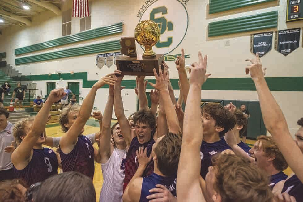 Perry boys' volleyball