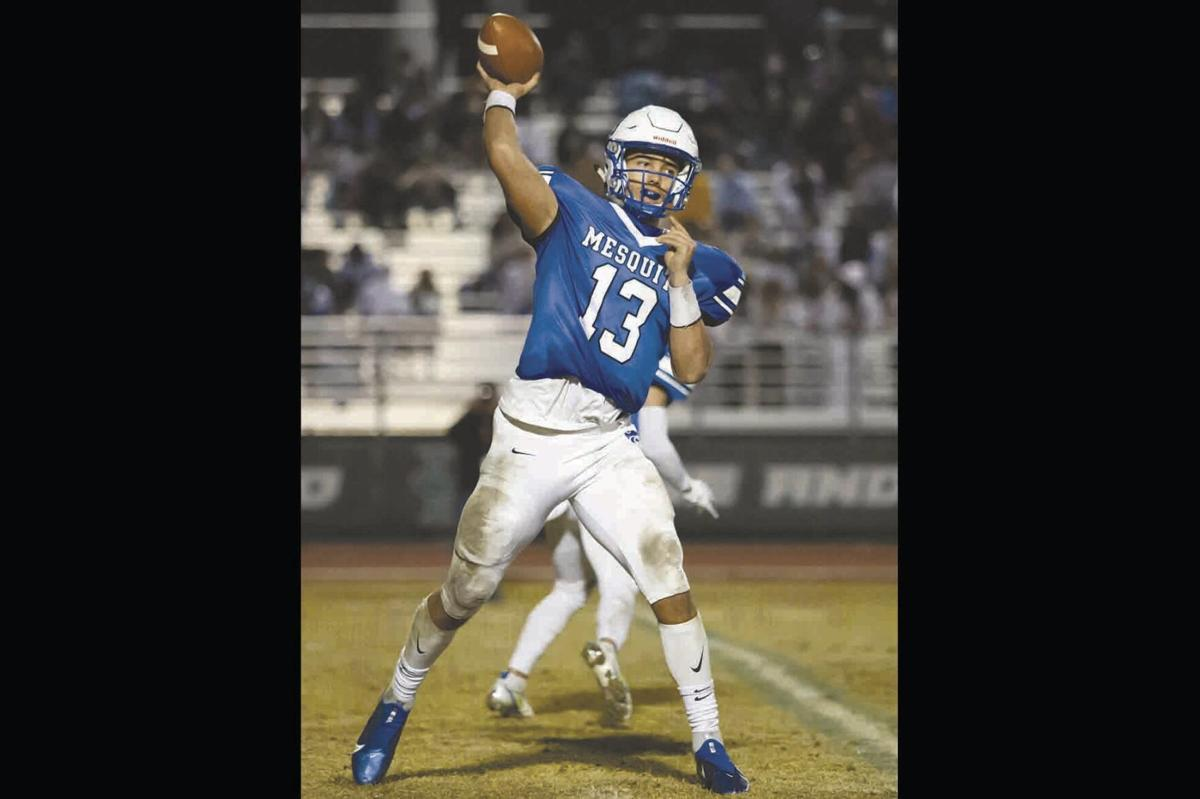 Mesquite quarterback Ty Thompson