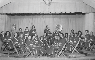 A LOOK BACK IN TIME   |   GLADWIN HIGH SCHOOL BAND 1940/41